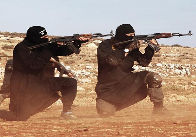 FIle pic - ISIS militants