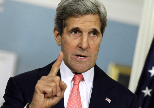 John Kerry has slammed Trump for his decision to pull US