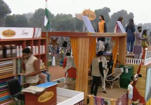India Tv - Khadi India tableau