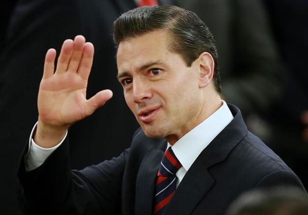 File pic - Mexico's President Enrique Pena Nieto