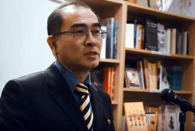 North Korean defected diplomat