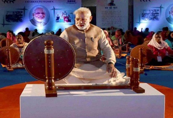 Gandhi ji is too gigantic to be replaced by anyone: