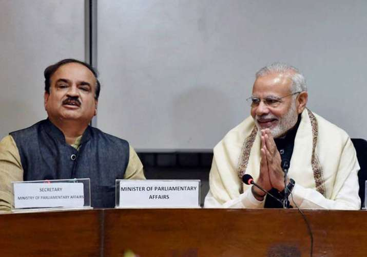 PM Modi tells parties to debate during budget session