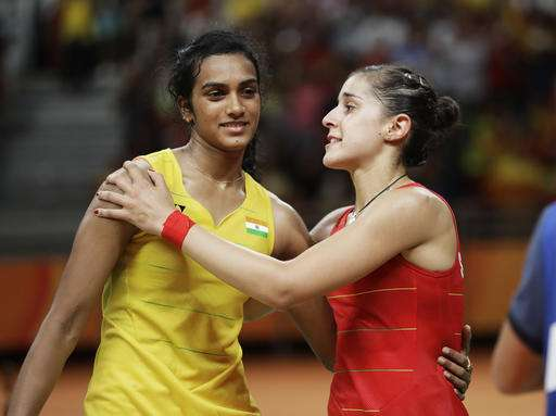 Carolina Marin defeats PV Sindhu in PBL 2017
