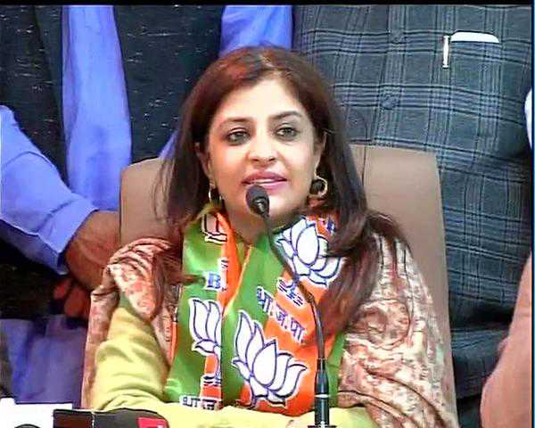 India Tv - Shazia Illmi joined the BJP after resigning from AAP. (File Photo)
