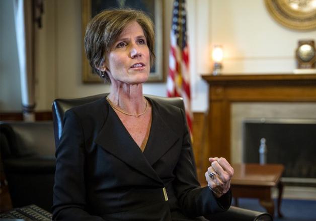 Attorney General Sally Yates