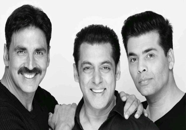 Akshay, Salman, Karan- India Tv