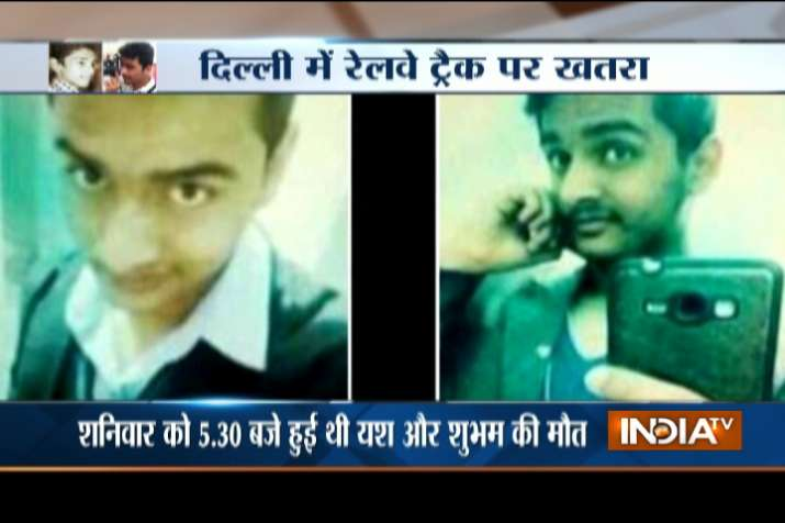 Two teens crushed to death by speeding train while trying