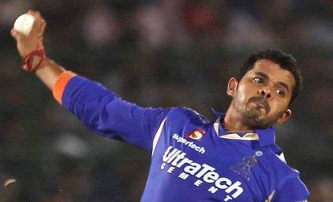 BCCI imposed a ban on S Sreesanth for involvement in the