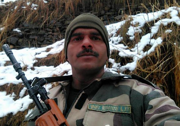 File pic of BSF jawan Tej Bahadur Yadav