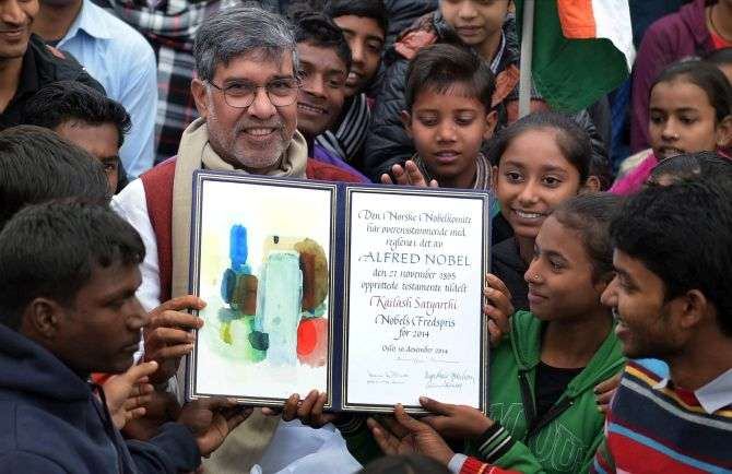 Kailash Satyarthi won the Nobel Peace Prize in 2014