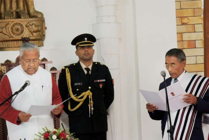 Nagaland CM Liezietsu to face trust vote tomorrow