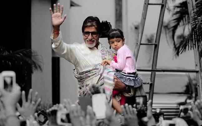 India Tv - Amitabh Bachchan and Aaradhya
