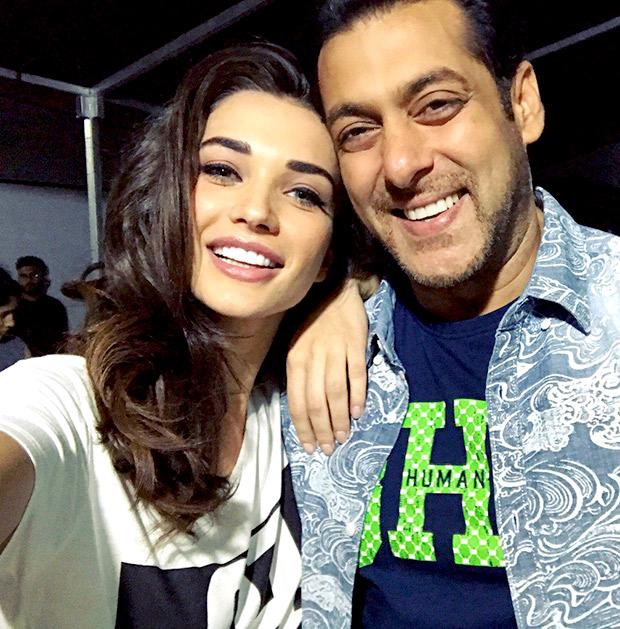India Tv - Salman Khan and Amy Jackson
