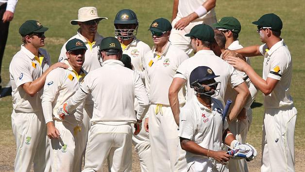 Australia ends India's winning streak, thrashes hosts by