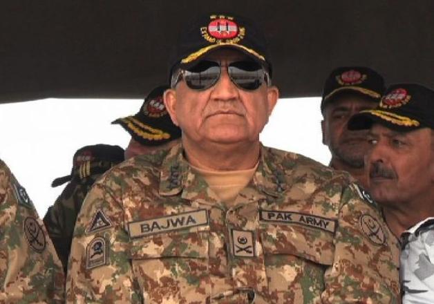 File pic of Pakistan's Army Chief General Qamar Javed Bajwa