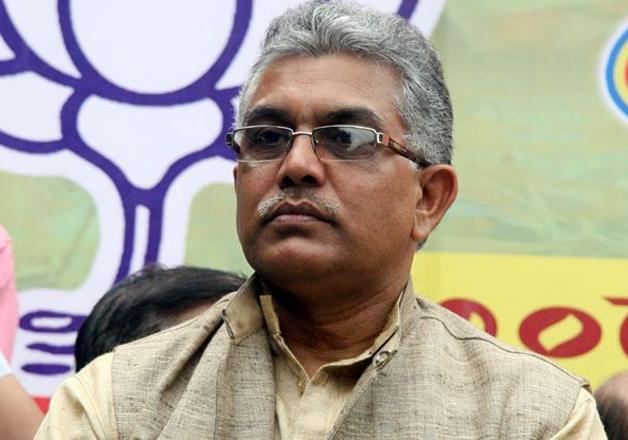 File pic - BJP's Bengal unit chief Dilip Ghosh