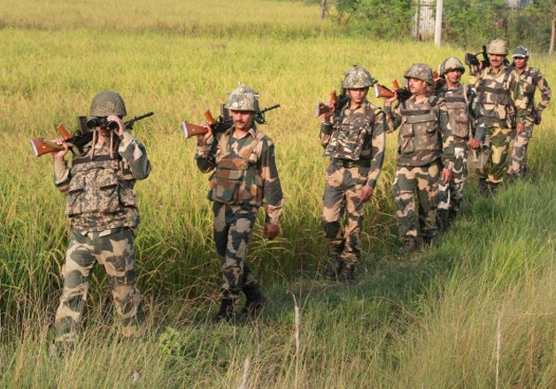 File pic - BSF foils infiltration bid along LoC, one