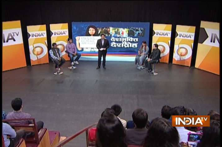 India TV debates nationalism and the politicisation of