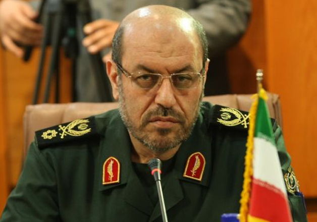 File pic of Iranian Defence Minister Hossein Dehghan