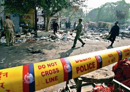 The Delhi serial bombings in 2005 left over 60 dead and 200