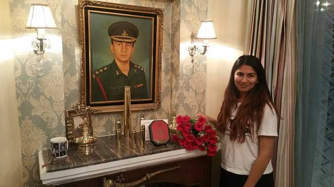 Gurmehar Kaur's father was martyred in militant attack,