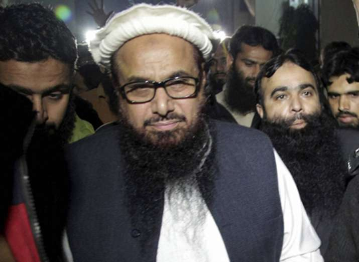 Hafiz Saeed is currently under house arrest