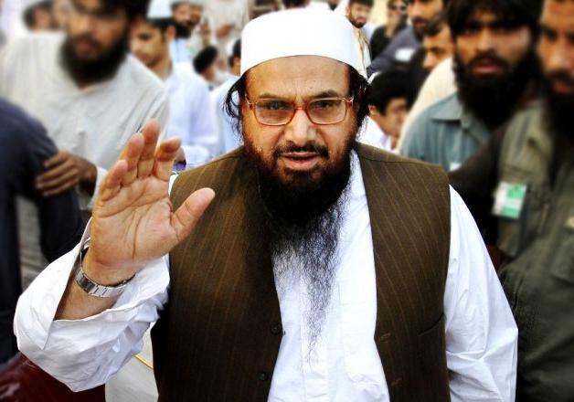 File pic of JuD chief Hafiz Saeed