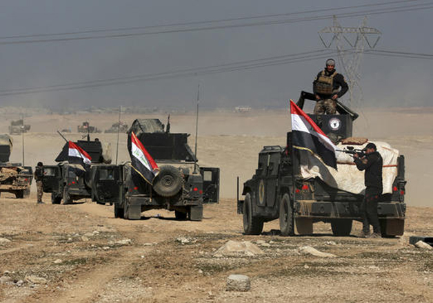 Iraqi forces regain control of Mosul airport from ISIS
