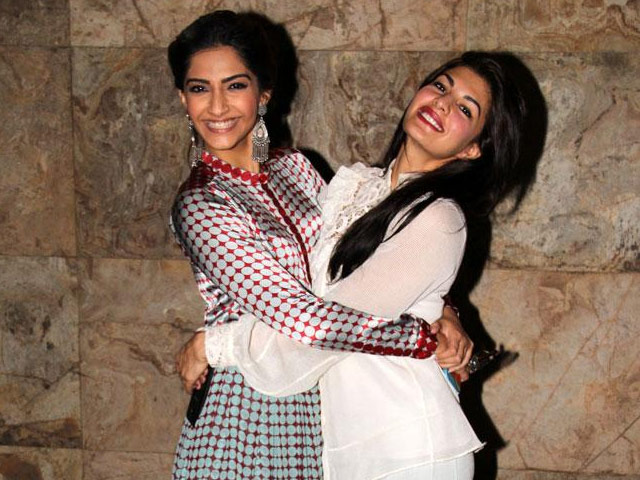 India Tv - Sonam and Jacqueline
