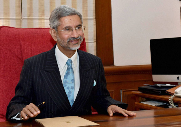 File pic - Foreign Secretary S Jaishankar begins China