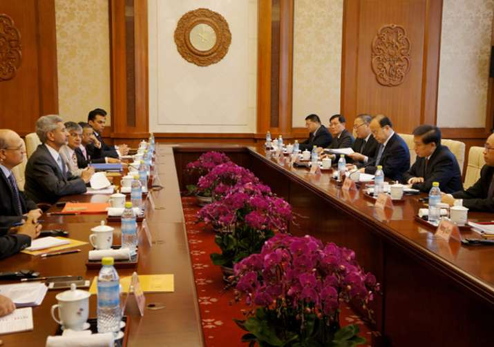 Talks with India was positive, says China