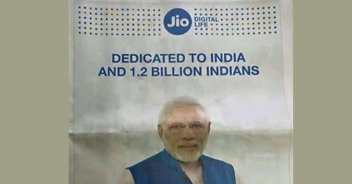 India Tv - Centre slaps notices on RJio, Paytm for using PM Modi's photo in advertisements