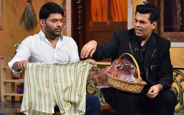 India Tv - Kapil Sharma, Karan Johar- India Tv