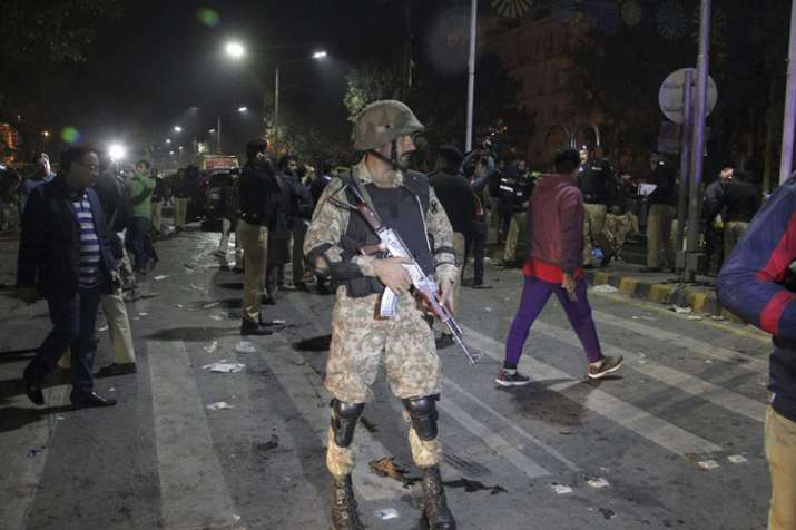 Blast outside Punjab Assembly in Lahore