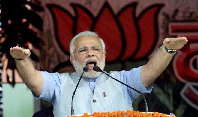 PM Modi seeks to puncture 'kaam bolta hai' slogan of