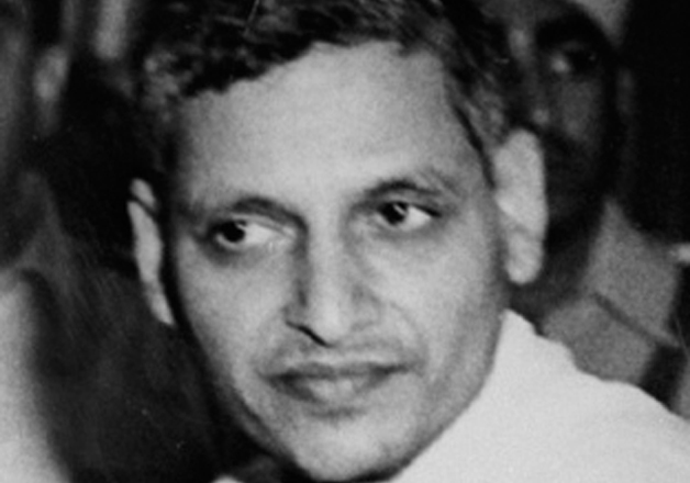 File pic of Nathuram Godse