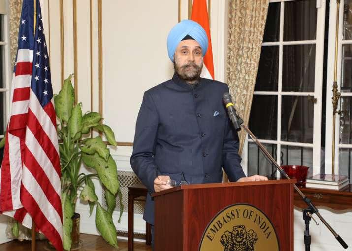 Indian envoy Navtej Sarna met Donald Trump in Oval Office