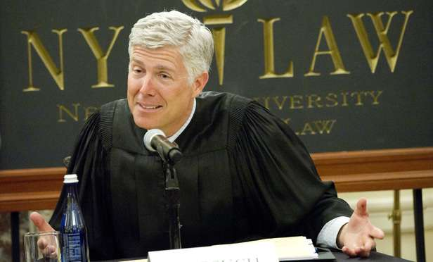 Donald Trump nominates Neil Gorsuch as US Supreme Court