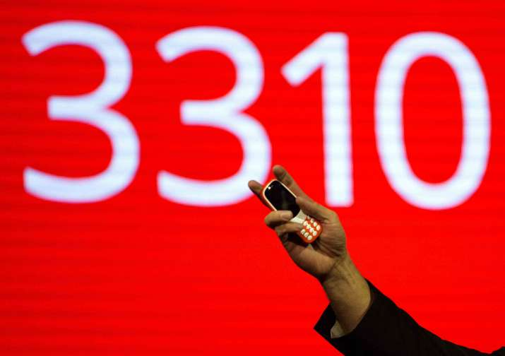 India Tv - Nokia 3310 relaunched in four colours with iconic 'snake' game
