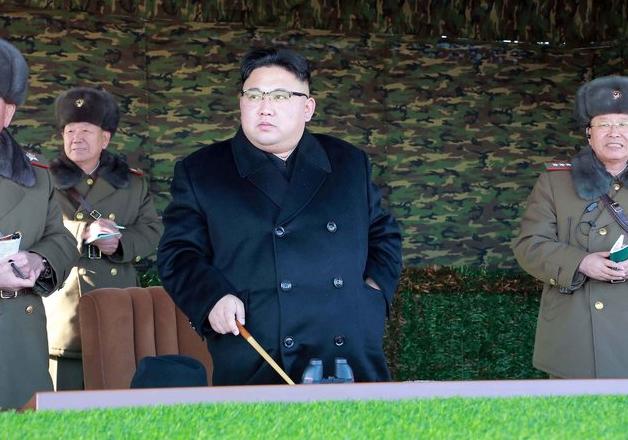 File pic of North Korean leader Kim Jong-un