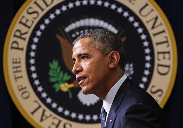 File pic of former US President Barack Obama