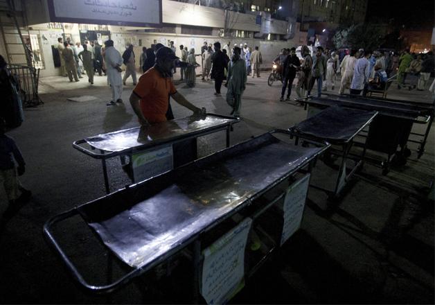 Pak hospital makes arrangements for victims of suicide