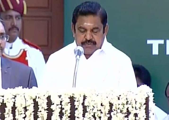 Edappadi K Palanisami sworn-in as Tamil Nadu Chief Minister