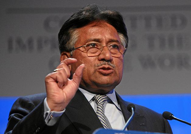 File pic of former Pak president Pervez Musharraf