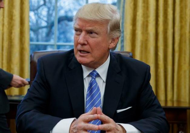 File pic of President Donald Trump