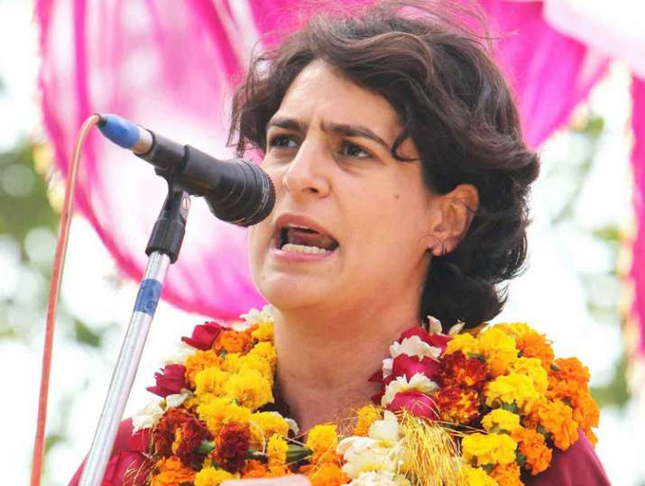 Priyanka Gandhi's first UP poll rally will be held in