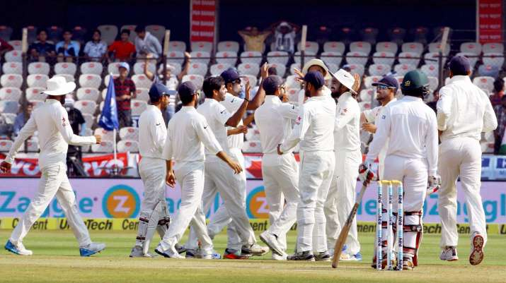 Hyderabad Test, day 4: India set Bangladesh a target of 459