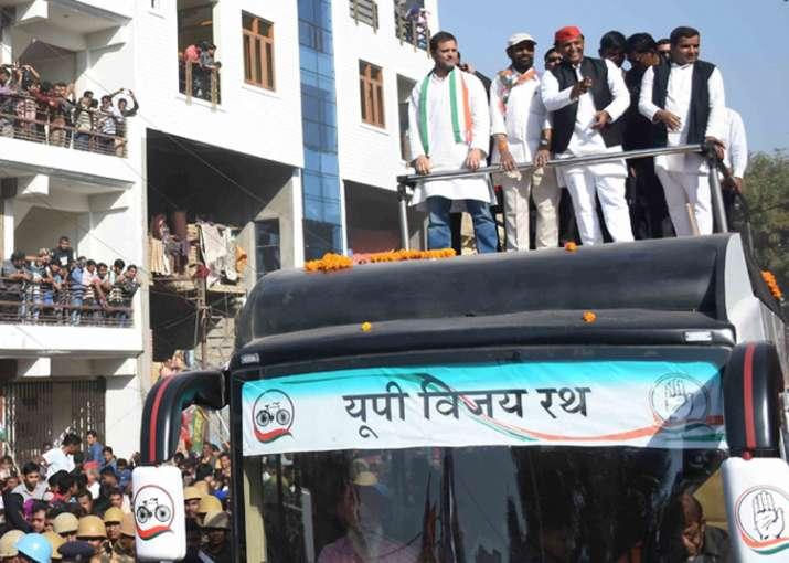 Rahul, Akhilesh to hold joint roadshow in Varanasi on Feb