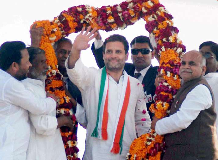 Rahul Gandhi today said SP-Cong alliance has wiped the